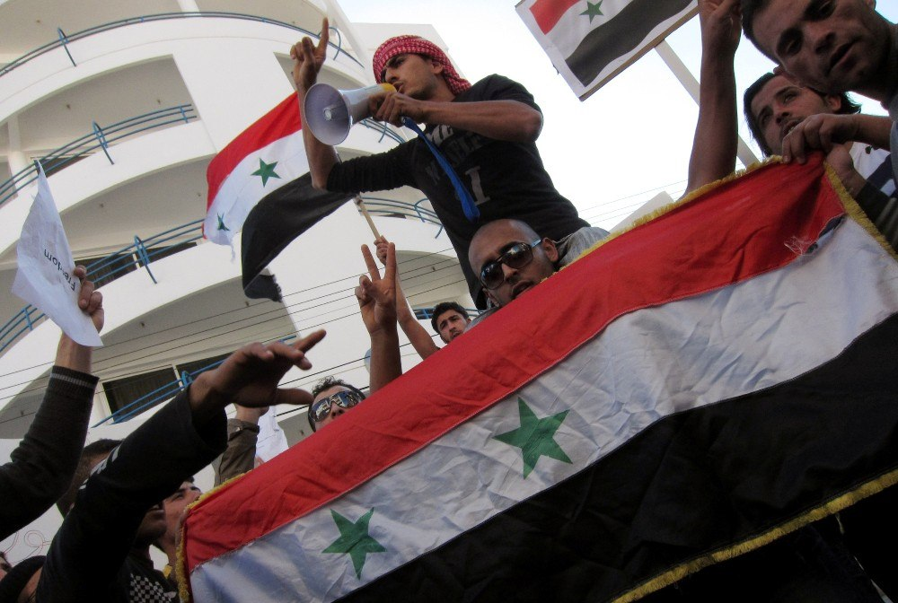 Siria-Proteste