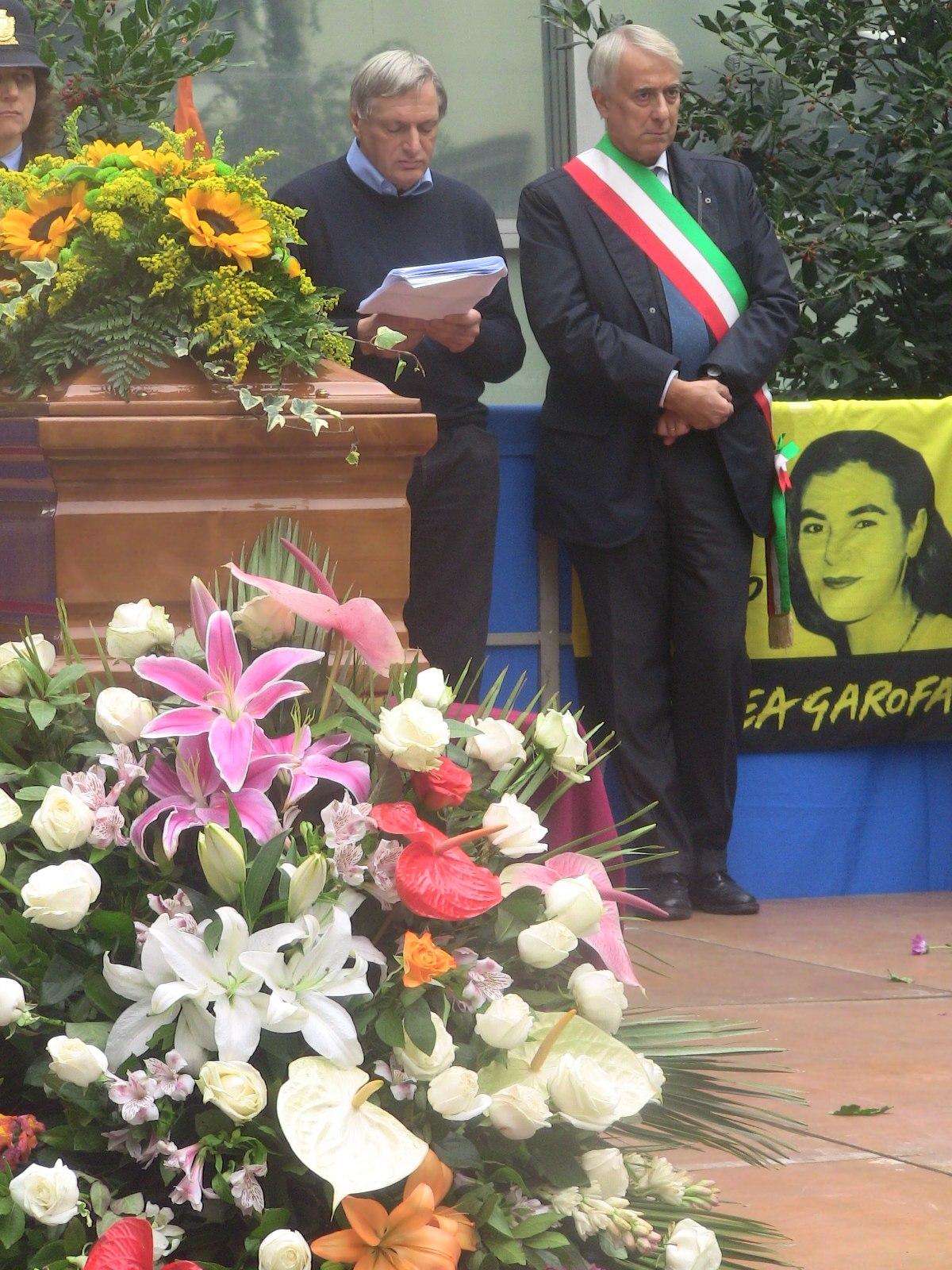 Pisapia ai funerali Lea Garofalo