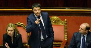 Matteo Renzi senato