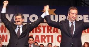 Massimo D'Alema e Walter Veltroni vincenti