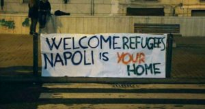 welcome refugees napoli