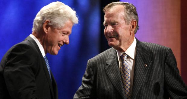 Bill Clinton, George H.W. Bush