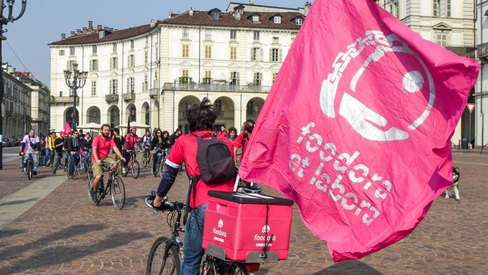 #Foodora, il comunicato stampa dei riders