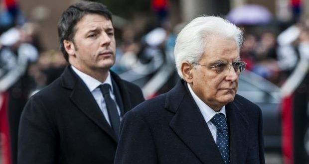 Renzi - Mattarella
