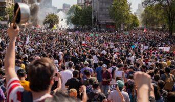 In Cile un mese prima della Rivolta