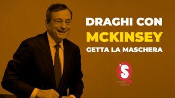 McKinsey, Draghi getta la maschera
